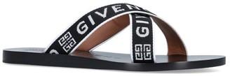 Givenchy Logo Strap Flip Flops