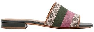 Kate Spade Boardwalk Stripe Jacquard Slides