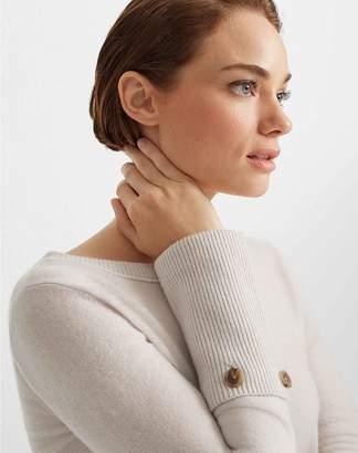 Club Monaco Cashmere Button Cuff Sweater