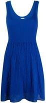 M Missoni Sleeveless Shift Mini Dress