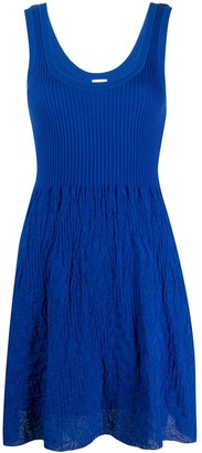 M Missoni Sleeveless Shift Mini Dress