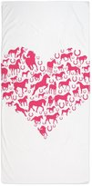 """CafePress - Horse Heart Pink - Large Beach Towel, Soft 30""""x60"""" Towel with Unique Design"""