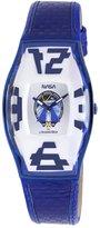 Chronotech Men's CT.6281M/17 Blue Calfskin Band watch.