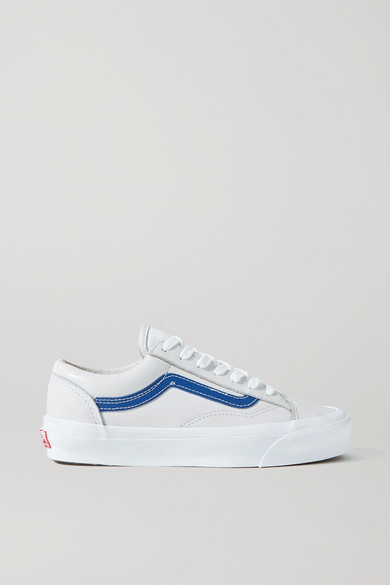 Vans Og Style 36 Lx Leather Sneakers - Off-white