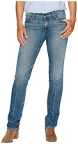 Agave Denim Rosie Stone Straight Fit Jeans in Medium Fade Women's Jeans