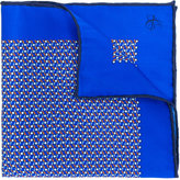Canali patterned pocket square - men - Silk - One Size