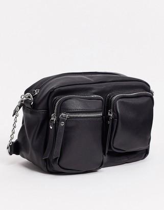 Pieces melira cross body bag in black