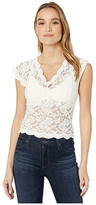 Bishop + Young Lace Shell (Ivory) Women's Blouse