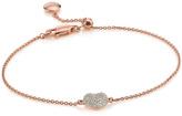 Monica Vinader Nura Mini Heart Bracelet