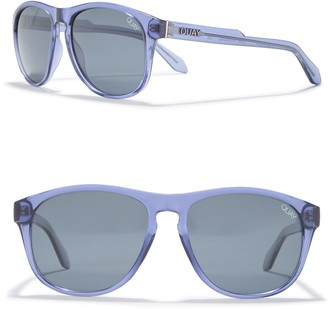 Quay 47mm Lost Weekend Round Sunglasses