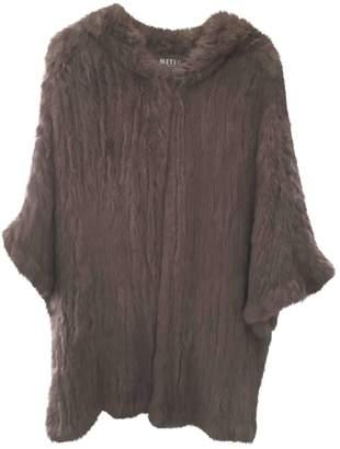 Meteo Grey Fur Coat for Women