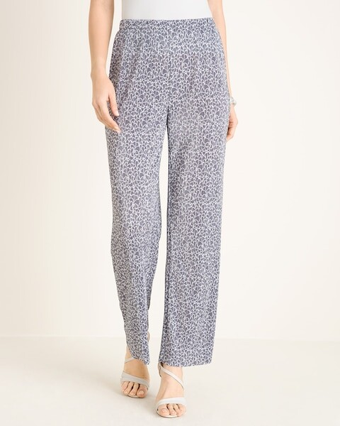 Thumbnail for your product : Travelers Collection Micropleat Wide-Leg Pants