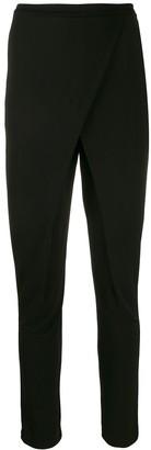 Roberto Cavalli Overlap High Waist Trousers