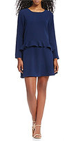 Gianni Bini Greer Drop Waist Ruffle Dress