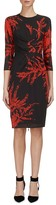 Whistles Phoebe Fern Print Dress