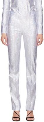 Saks Potts Silver Shimmer Lissi Pants