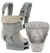 Infant Ergobaby 'Four Position 360 - Bundle Of Joy' Baby Carrier & Infant Insert