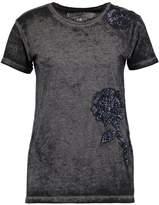 Replay Print Tshirt off black