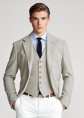Ralph Lauren Herringbone Wool-Blend Vest