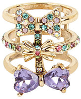Betsey Johnson Sweet Shop Bow Ring