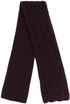Barena cable knit scarf