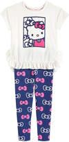 Hello Kitty 2-Pc. Embroidered Mesh Tunic & Leggings Set, Toddler Girls (2T-5T)