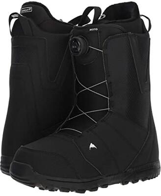 Burton Moto Boa(r) Snowboard Boot (Black) Men's Cold Weather Boots