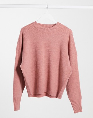 Dr. Denim Lizzy knitted jumper in blush pink