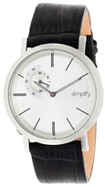 Simplify Round Stainless Steel the 3100 Watch, 42mm