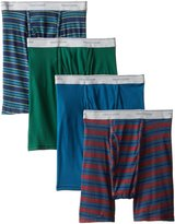 Fruit of the Loom Men's 4pk Stripe/Solid Boxer Brief