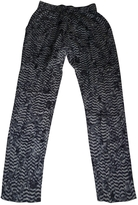 Isabel Marant Wide Silk Trousers
