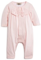 Giorgio Armani Infant Girls' Bow Front Coverall - Sizes 3-9 Months