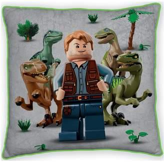 Lego Jurassic World Dinosaur Canvas Cushion