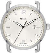 Fossil The Commuter Three-Hand Date Stainless Steel Watch Case