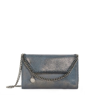 Stella McCartney Mini Metallic Falabella Cross-Body Bag