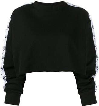 Chiara Ferragni Logomania cropped sweatshirt