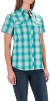 Woolrich Eaves Shirt - Short Sleeve (For Women)
