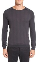 Pal Zileri Men's Neat Dot Merino Wool Crewneck Sweater