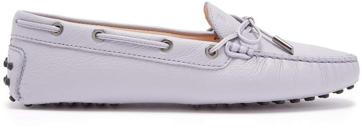 Tod's Gommini lace-up leather loafers