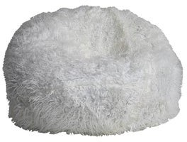 Lea Unlimited Fuzzy Nest Round Beanbag