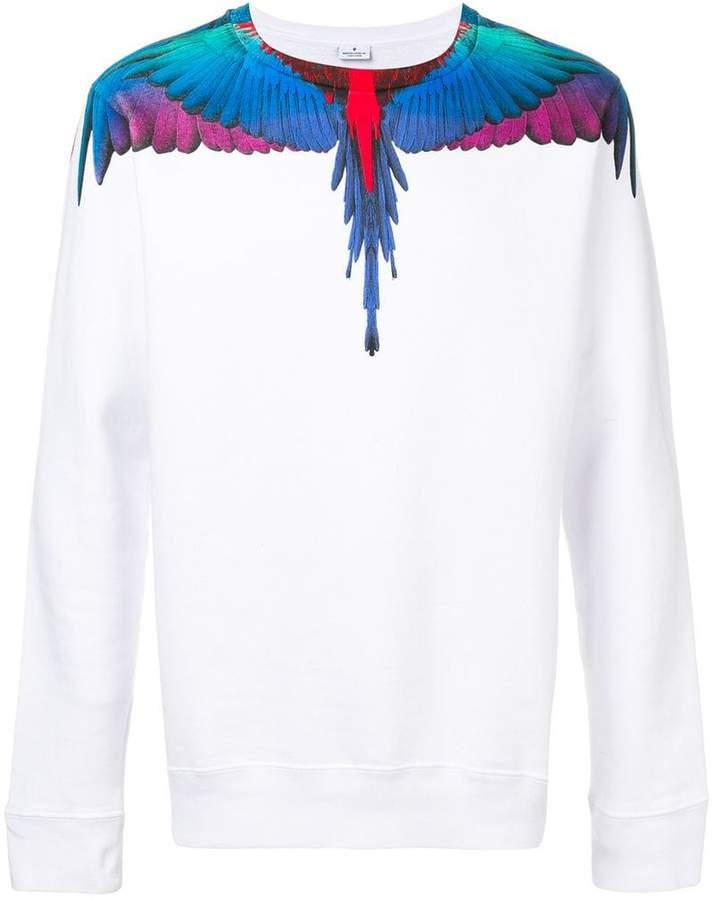 Marcelo Burlon County of Milan wings-print sweatshirt
