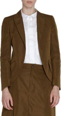 Jil Sander Open Front Jacket
