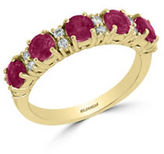 Effy Diamonds, Ruby and 14K Yellow Gold Ring