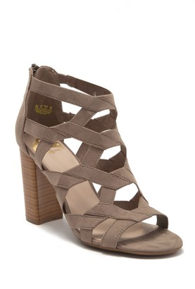 Fergalicious Maiden Block Heel Sandal