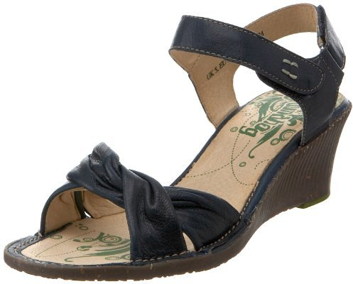 Groundhog Women's Gaspe Ankle-Strap Wedge