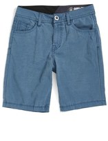 Volcom Boy's 'Surf N' Turf Solver' Hybrid Shorts