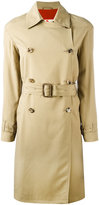 Etro belted trench coat - women - Silk/Acetate - 42