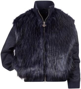 Appaman Girl's Zoe Faux-Fur Bomber Jacket, Size 2-14