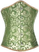 Alivila.Y Fashion Corset Alivila.Y Fashion Womens Womens Brocade Underbust Corset 2686-5XL