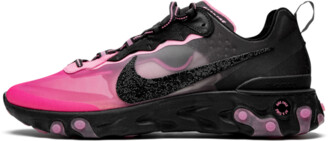 Nike React Element 87 SR QS 'Swarovski x Sneaker Room - Breast Cancer Awareness' Shoes - Size 14